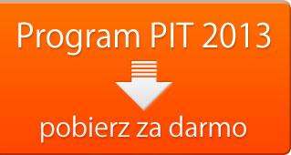 Program PIT 2013. Pobierz za darmo.